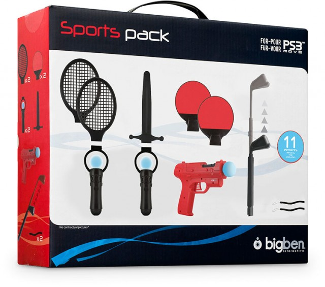 Sport Pack 11 per PS3™ Move - Packshot