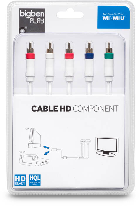 Cavo Component HD per Wii - Packshot