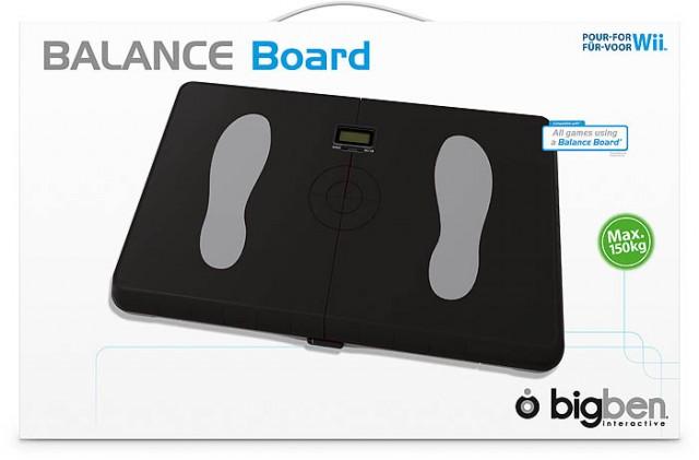 Balance Board (Nera) - Packshot