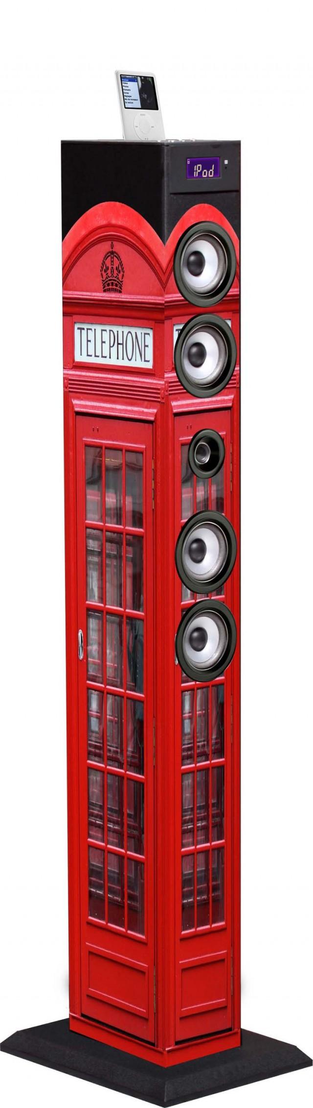 Torre Multimediale plug&play UK TELEPHONE - Packshot