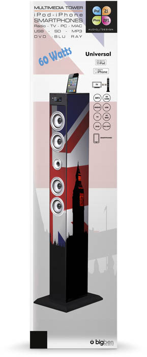 Torre Multimediale plug&play UK BIG BEN – Immagine