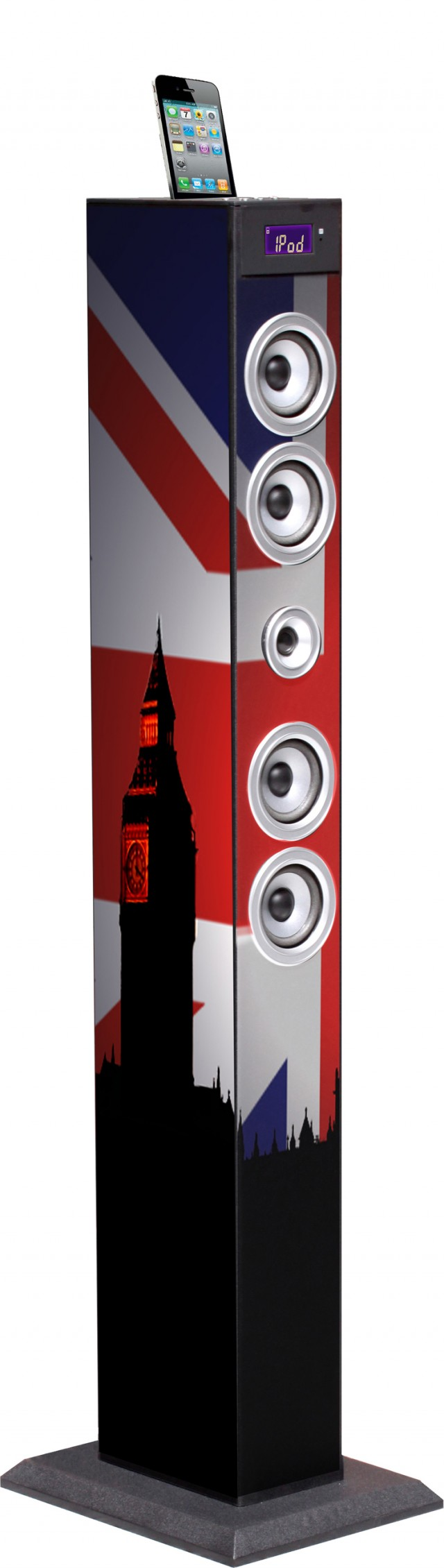 Torre Multimediale plug&play UK BIG BEN – Packshot