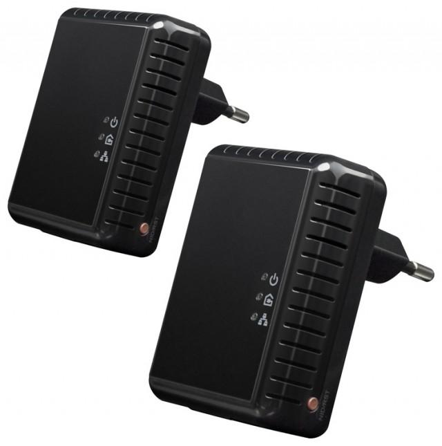 Kit di 2 adattatori di rete CPL - 500 Mbps - Packshot