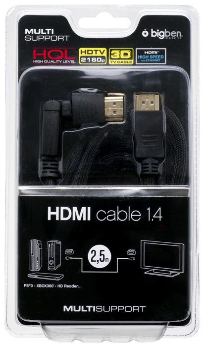 Cavo HDMI HDTV 2160p 3D con Ethernet - Packshot