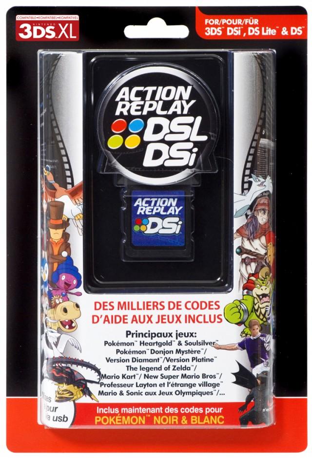 Action Replay per 3DS™, 3DS™XL, DSi™, DSi™XL, DS™Lite et DS™ - Packshot