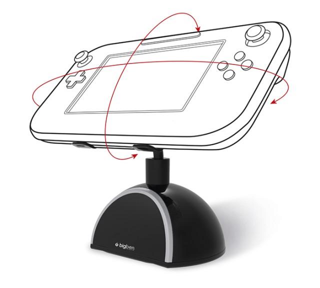 Supporto rotante per Nintendo Wii U - Packshot