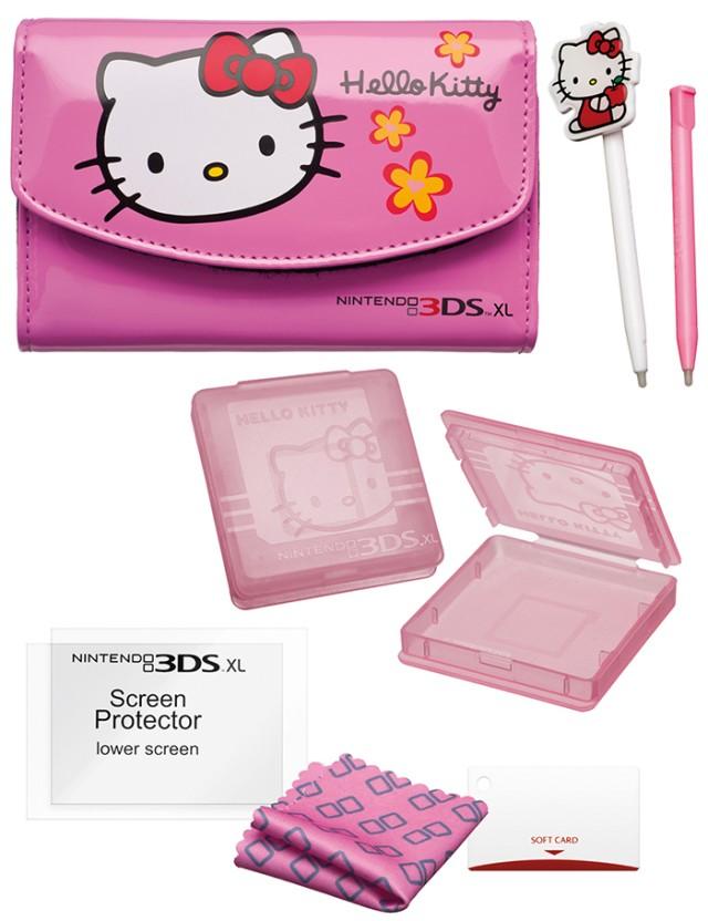 Game Traveller | Essential pack per Nintendo 3DS XL licenziato Hello Kitty - Packshot