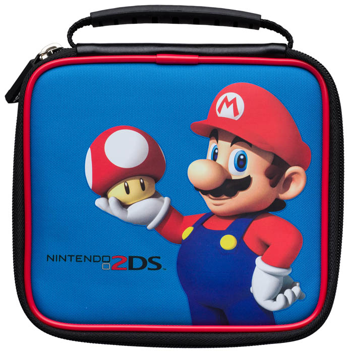 Borsetta ufficiale mario nintendo 2ds bigben it bigben for Housse 2ds bigben