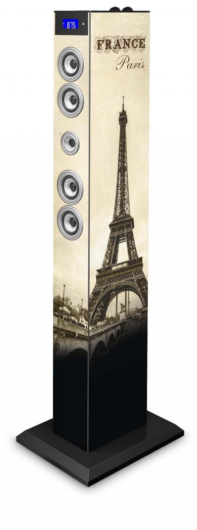Torre Multimediale docking + micro USB PARIS Bluetooth® - Packshot