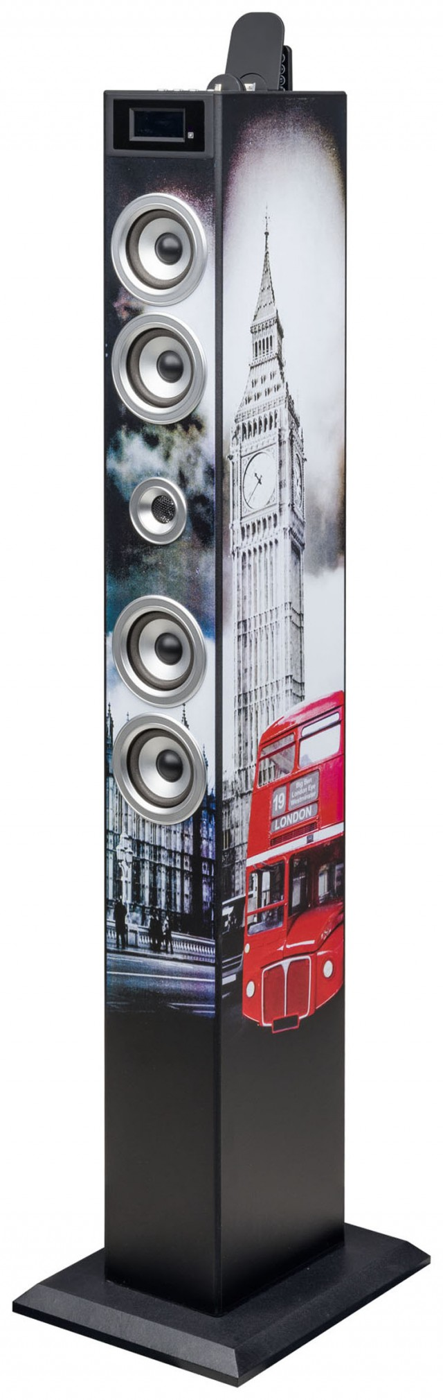 Torre Multimediale docking + micro USB LONDON Bluetooth® - Packshot