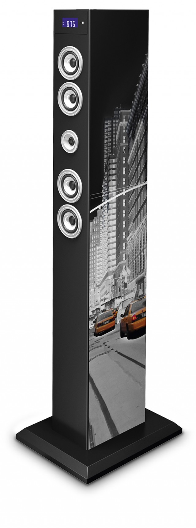 Torre Multimediale docking + micro USB NEW YORK Bluetooth® - Packshot