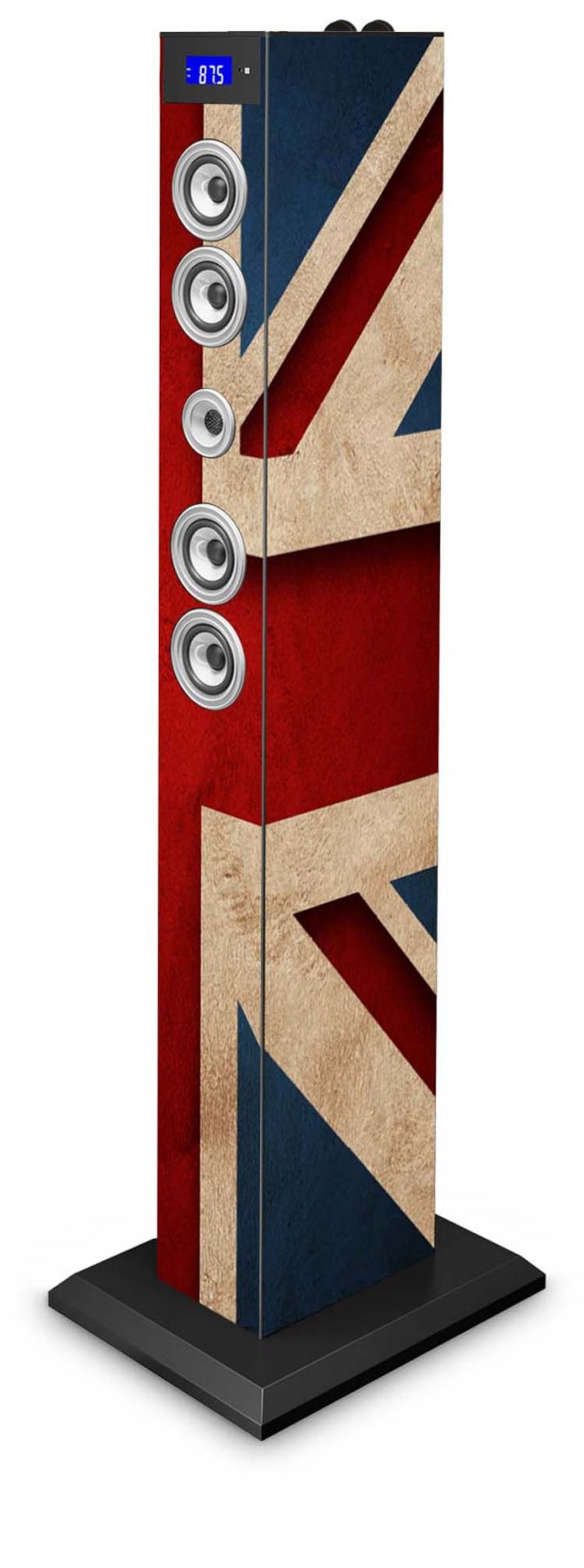 Torre Multimediale docking + micro USB UK FLAG Bluetooth® - Packshot