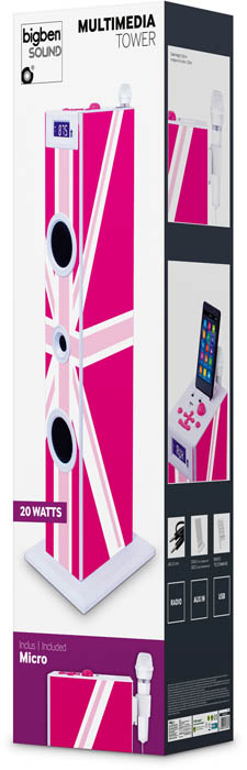 "Torre Multimediale TW5 ""GB Girly"" – Immagine #2"