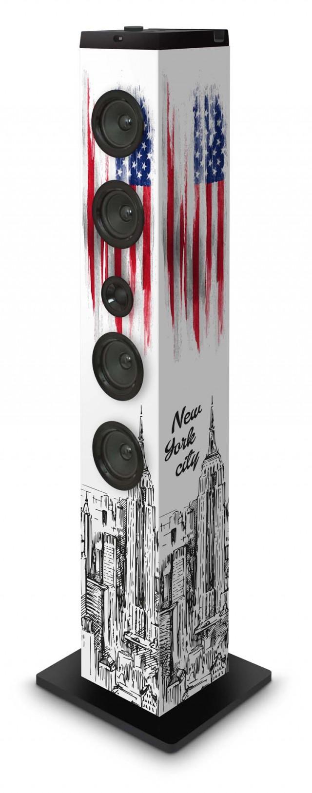 """Torre Multimediale TW7 """"NYC"""" - Packshot"""