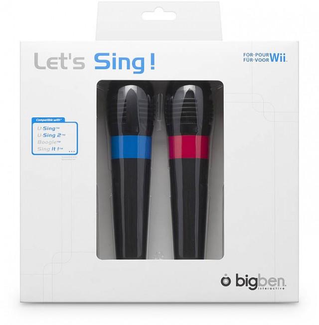 Let's Sing! 2 Microfoni per Wii™ - Packshot