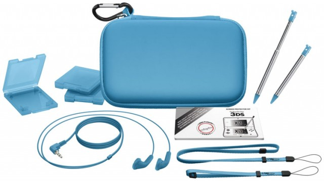 "Accessories ""Essential"" pack for Nintendo New 3DS - Packshot"