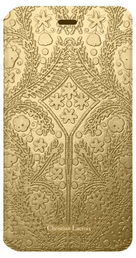 "CHRISTIAN LACROIX folio case ""Paseo"" (Gold) - Packshot"