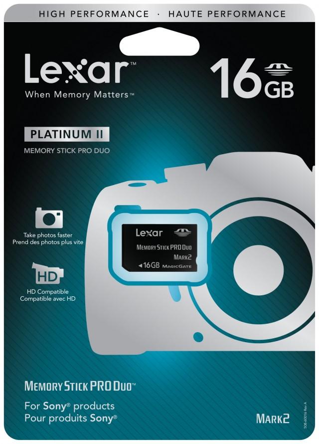Carte Mémoire 16GB Lexar pour PSP™ / PS2™ - Packshot