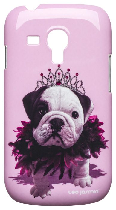Teo Jasmin Queen hard case for Samsung® Galaxy SIII Mini (Pink) - Packshot