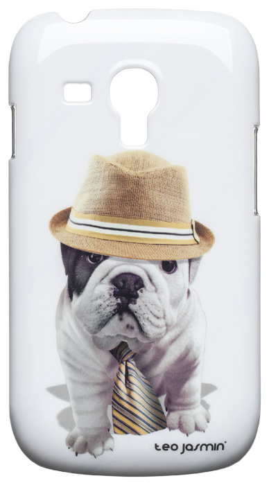 Teo Jasmin Giorgio hard case for Samsung® Galaxy SIII Mini (White) - Packshot