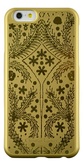"Christian Lacroix Hard Case ""Paseo"" (Gold) - Packshot"