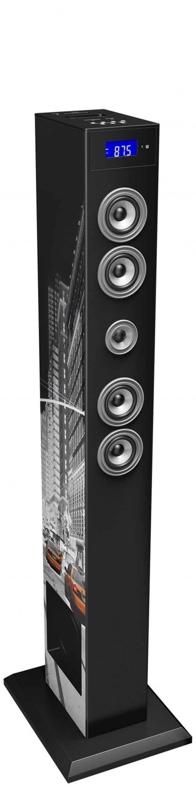 Multimedia tower with adaptador Bluetooth (New-York) - Packshot