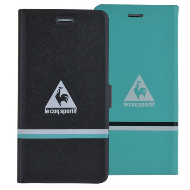 "LE COQ SPORTIF Folio Case Reversible"" (Green & Black)"" - Packshot"
