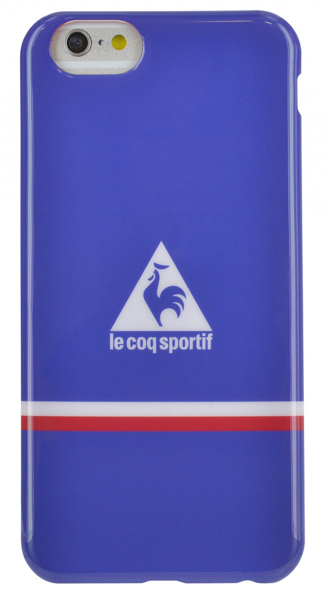 "Le Coq Sportif Soft Case Core"" (Blue)"" - Packshot"