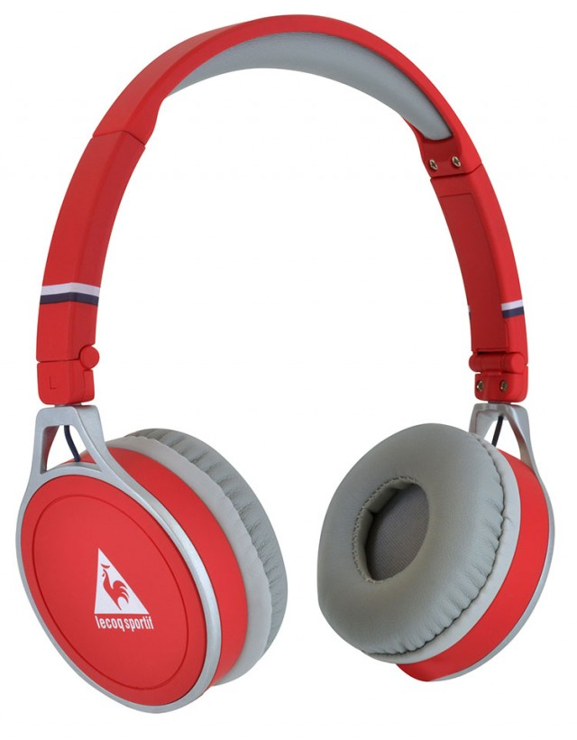 "Le Coq Sportif Wireless Headset Core"" (Red)"" - Packshot"