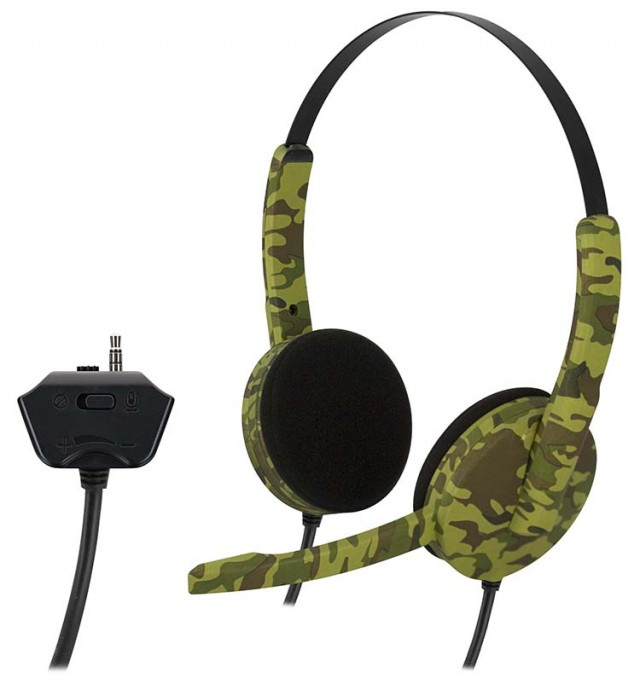 PS4 headset Camo - Packshot