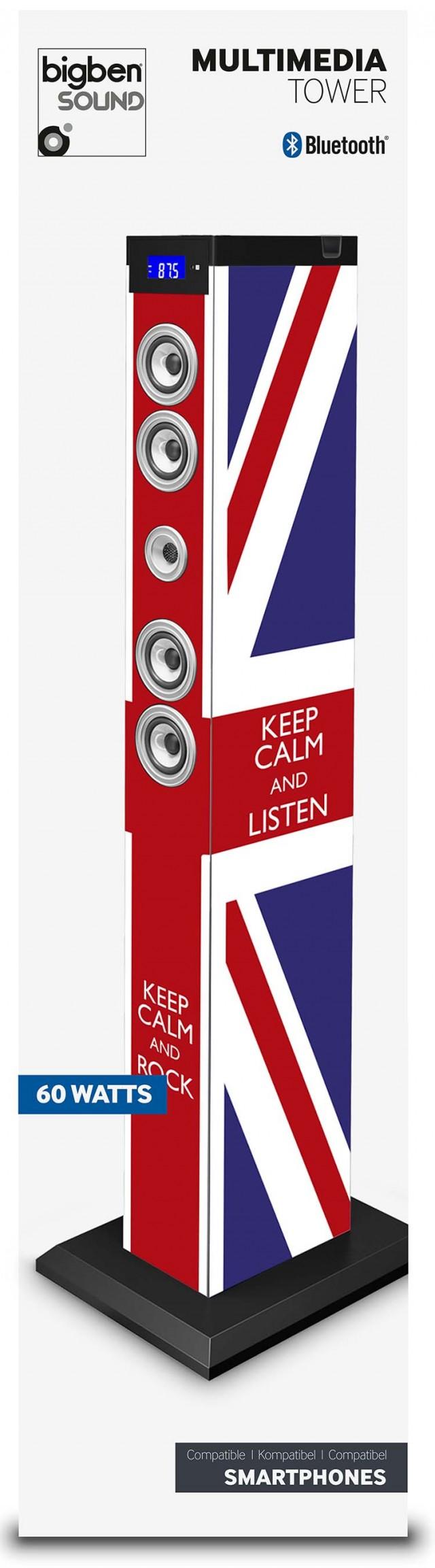 Multimedia Tower Keep Calm (UK) – Immagine #2