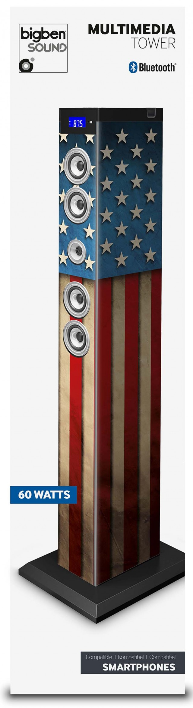 "Multimedia tower ""US flag"" – Immagine #2"