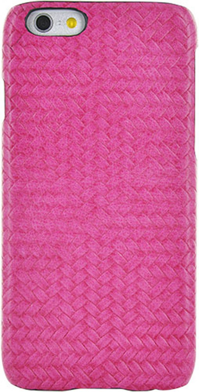 Hard Case 'Braided Leather' (Pink) - Packshot