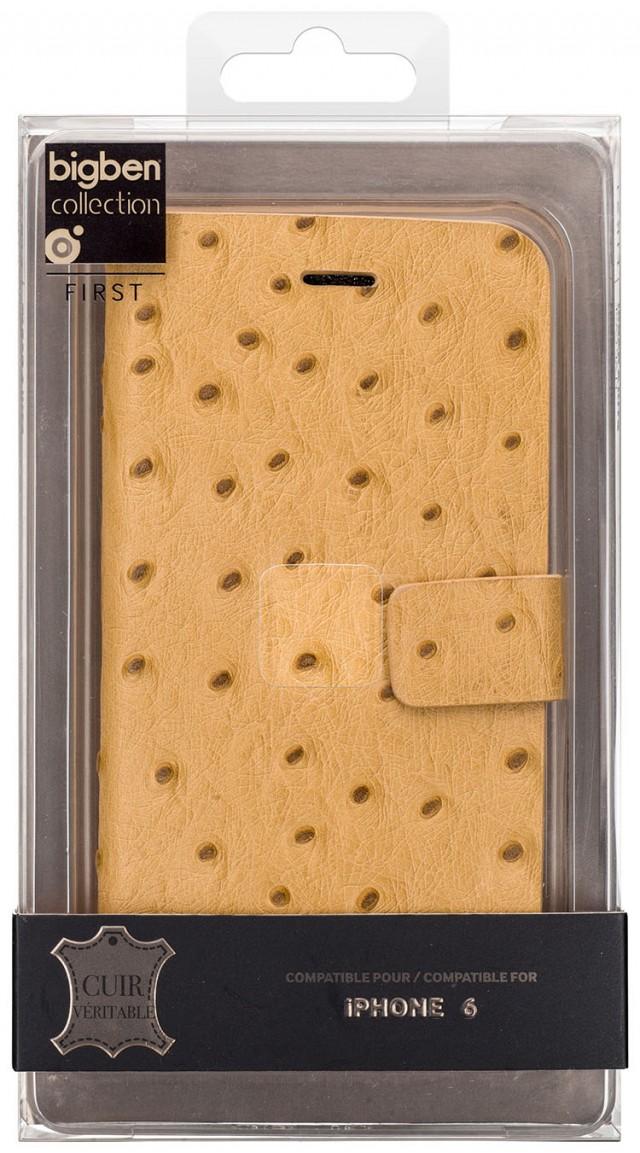 Folio Case 'Ostrich' (Beige) - Packshot