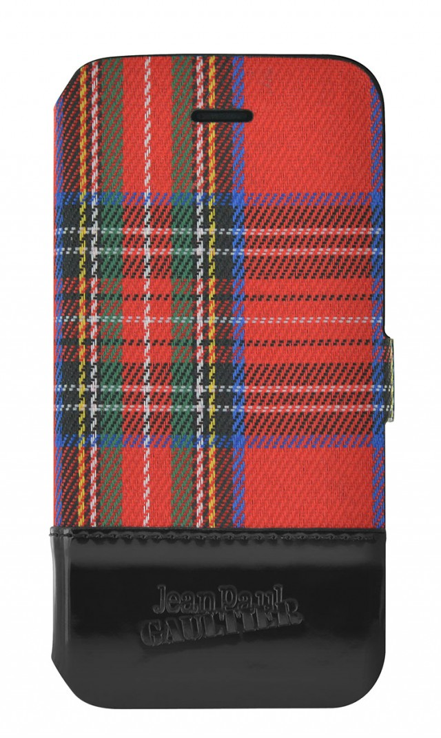 Jean Paul Gaultier Folio Case Tartan (Red) - Packshot