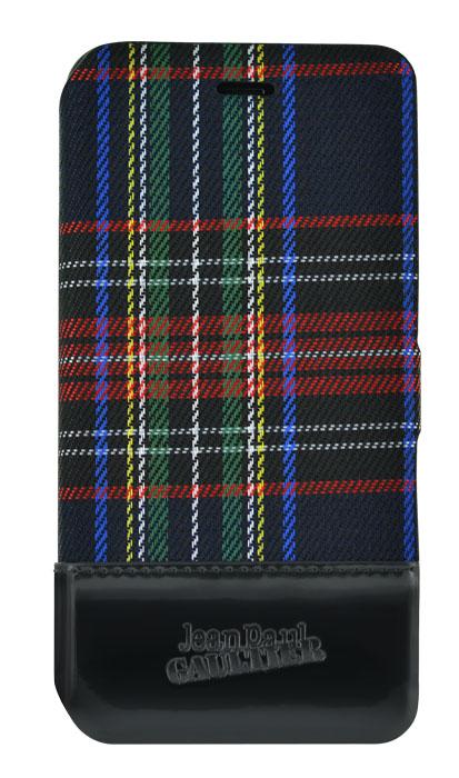 Jean-Paul Gaultier Folio Case Tartan (Black) - Packshot