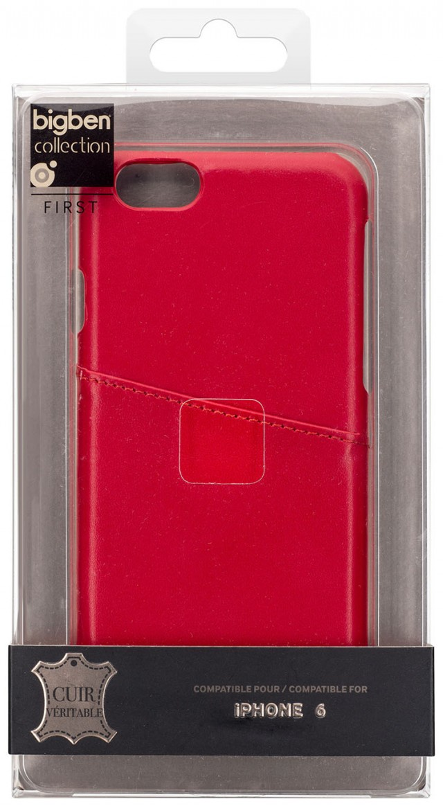 Hard Case Leather (Red) – Immagine