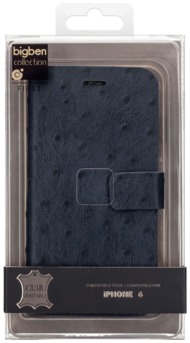 Folio Case 'Ostrich' (Blue) – Immagine #2