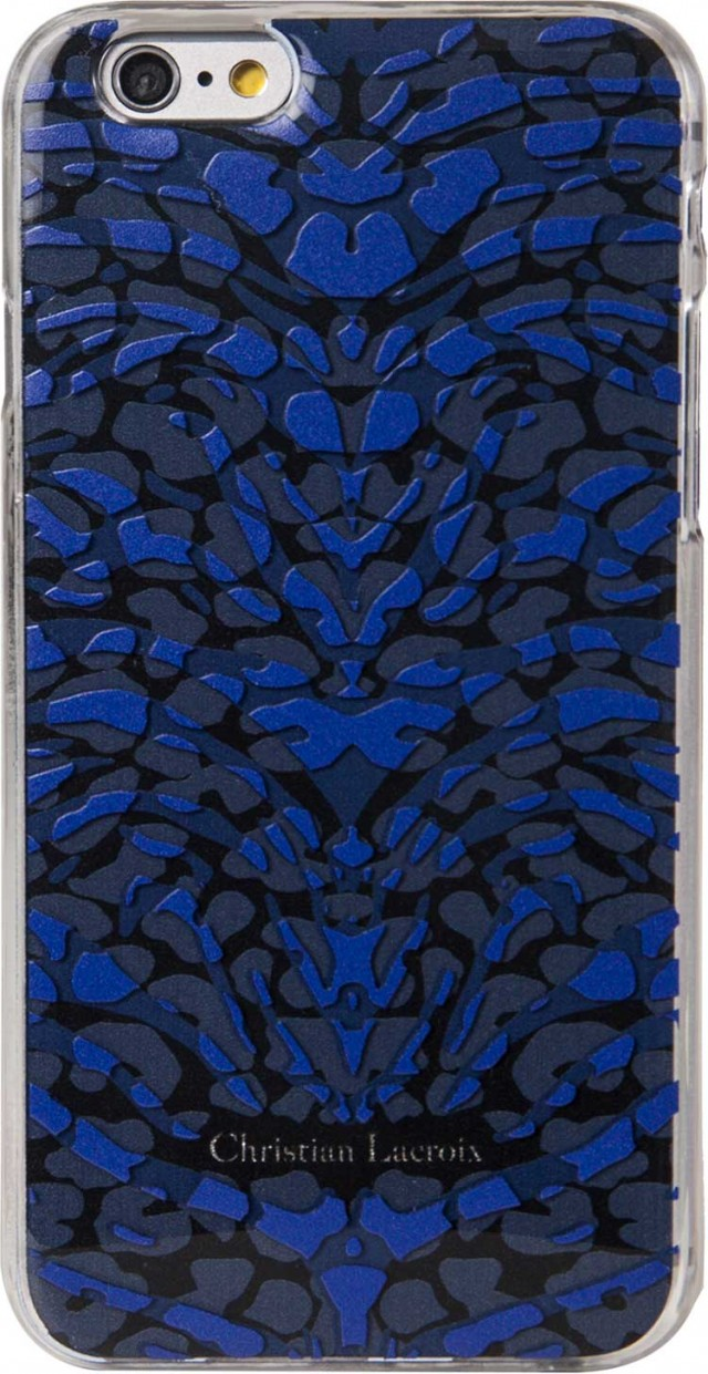 "CHRISTIAN LACROIX Hard Case Pantigre""(Blue)"" - Packshot"