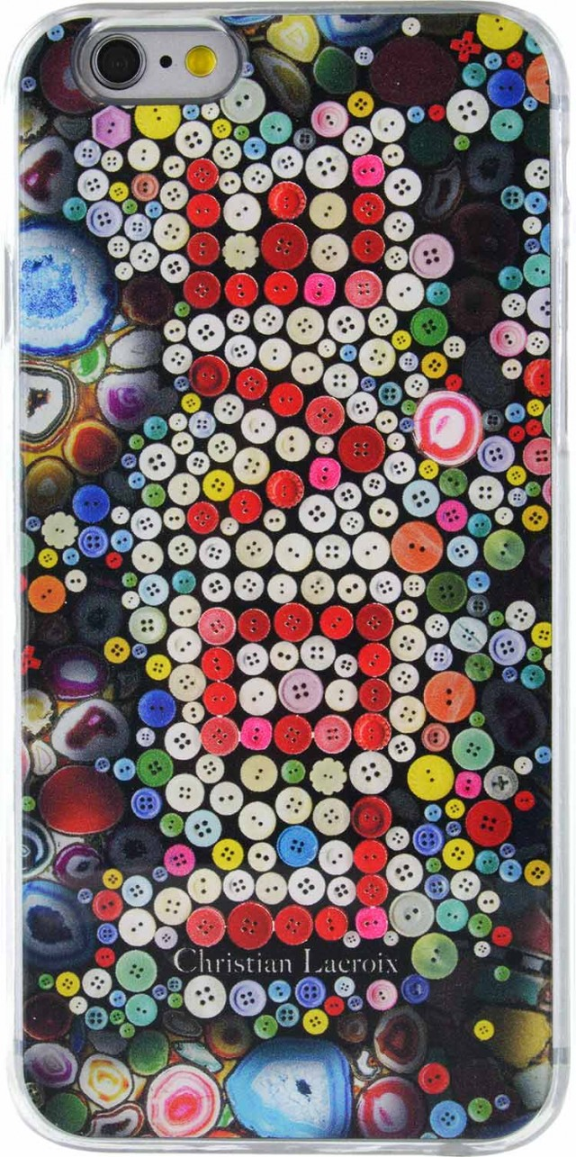 "CHRISTIAN LACROIX Hard Case multicolored Love"""" - Packshot"
