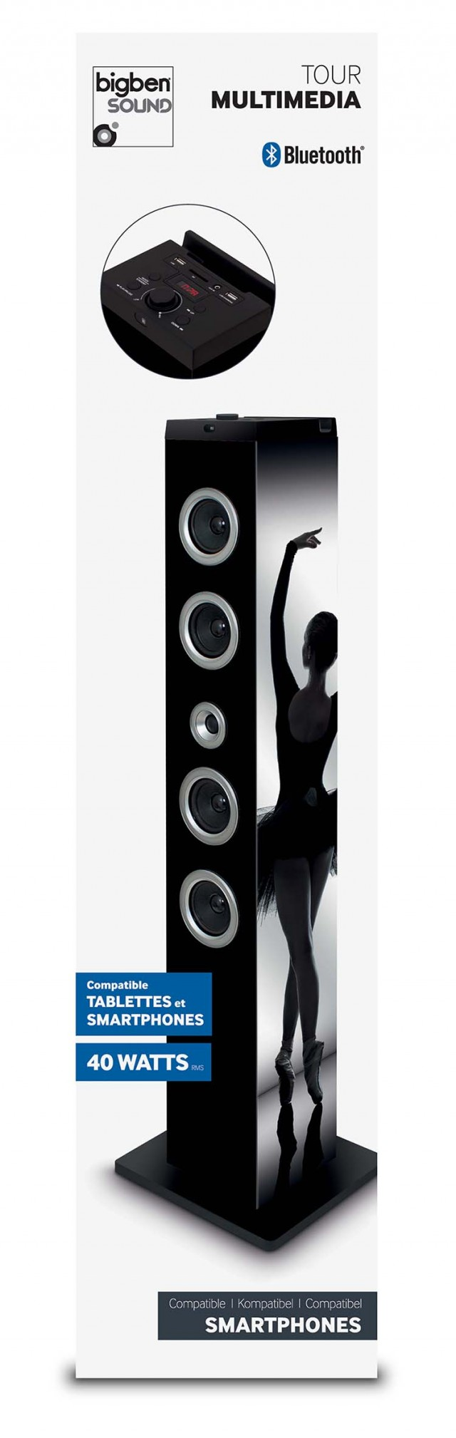 Multimedia Tower Ballerina – Immagine #1