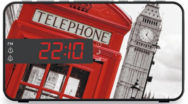 Radiosveglia doppio allarme London - Packshot