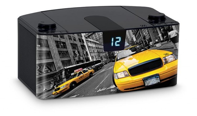Radio Lettore CD portatile Bluetooth®  Taxi – Immagine