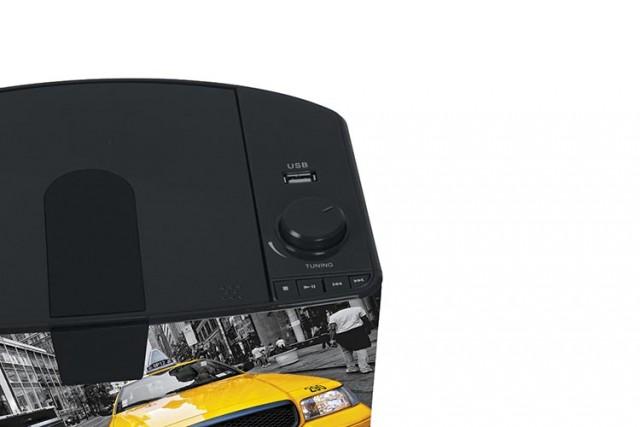 Radio Lettore CD portatile Bluetooth®  Taxi – Immagine #2