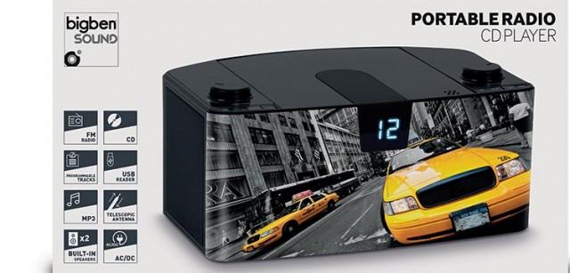 Radio Lettore CD portatile Bluetooth®  Taxi – Immagine #4