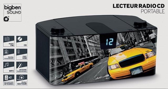 Radio Lettore CD portatile Bluetooth®  Taxi – Immagine #5