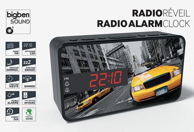 Radiosveglia doppio allarme Taxi – Immagine