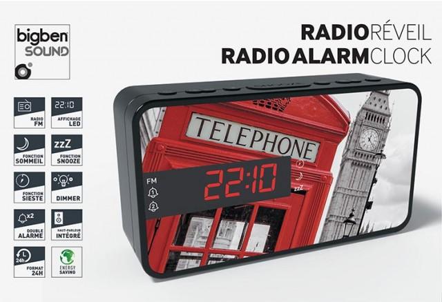 Radiosveglia doppio allarme London – Immagine