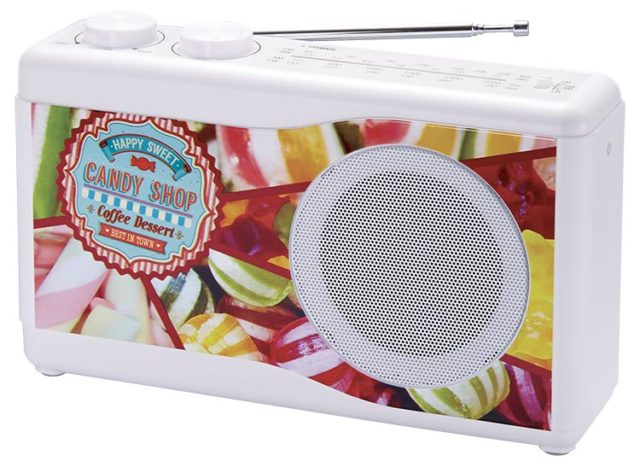 Portable radio (candy) - Packshot