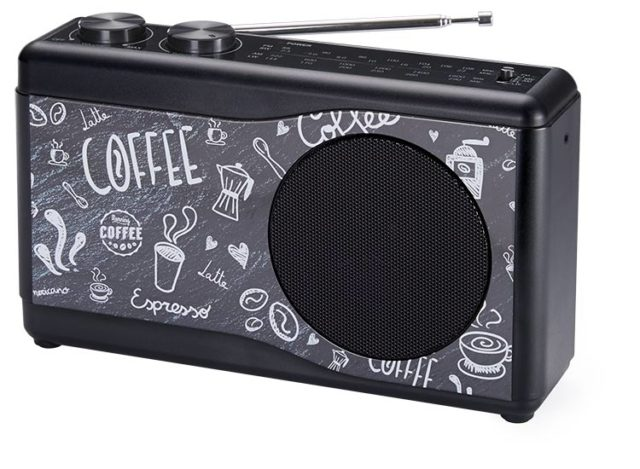 Portable radio (coffee) - Packshot